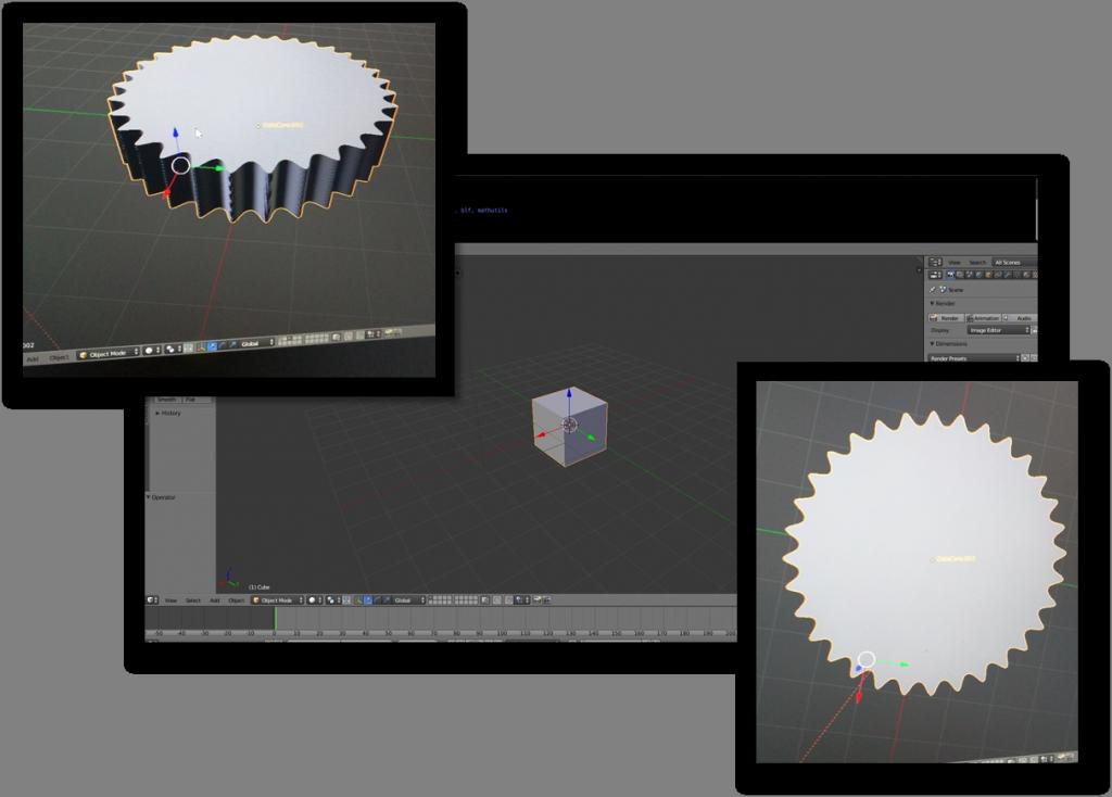 Blender Collage