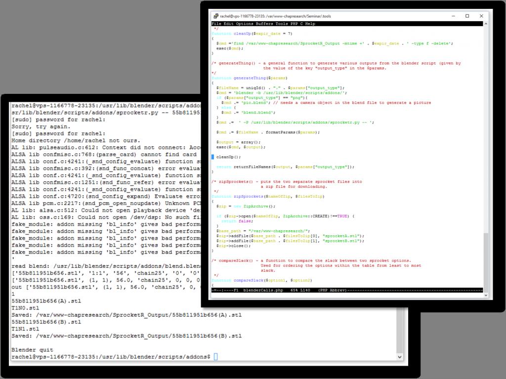 Server Integration Collage